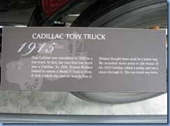 0909 Alberta Calgary - Heritage Park Historical Village - Gasoline Alley Museum - 1915 Cadillac Tow Truck