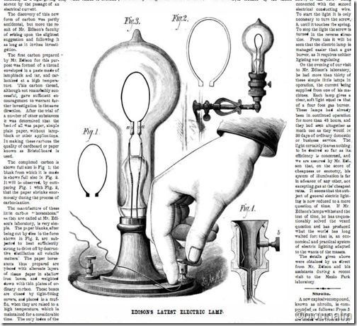 El foco de Edison