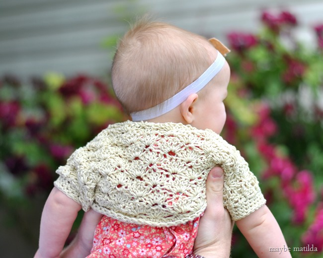 Maybe Matilda Darcys Vintage Shell Shrug Free Crochet Pattern