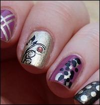 Skittle Nails q