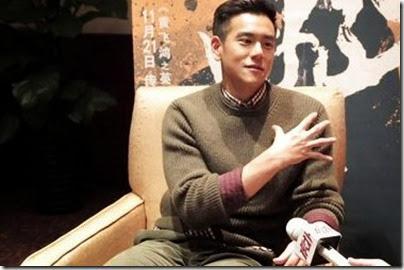 2014.11.16 Eddie Peng during Rise of the Legend - 彭于晏 黃飛鴻之英雄有夢 星時尚 - 訪問 01