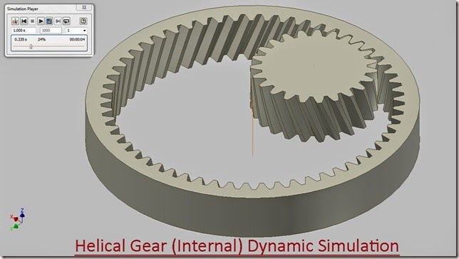 3d solid modelling videos helical gear internal dynamic helical gear internal dynamic simulation ccuart Image collections
