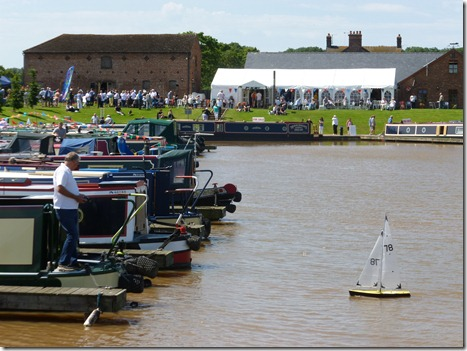 Fun Day and Marina Open Day -  stalls and model yacht