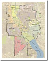 Redmond Map