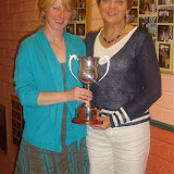 Francie Mahon & Kay Curley - Ladies Doubles Winners