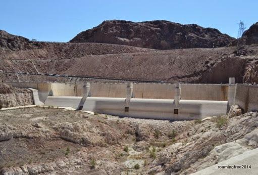 Arizona spillway