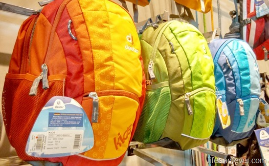 Deuter kids backpacks