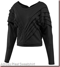 Adidas Pleat Sweatshirt