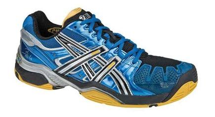ASICS GEL-BELA 2, las nuevas zapatillas de Fernando Belasteguin en azul eléctrico y amarillo.