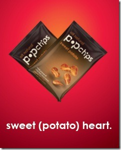 sweet potato heart