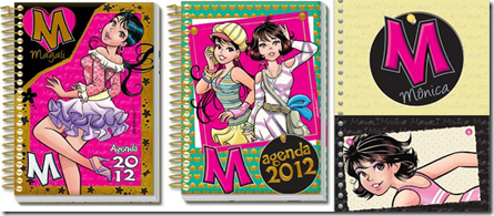 Agendas 2012 TMJovem Meninas 2
