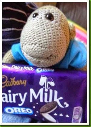 Oreo chocolate bar