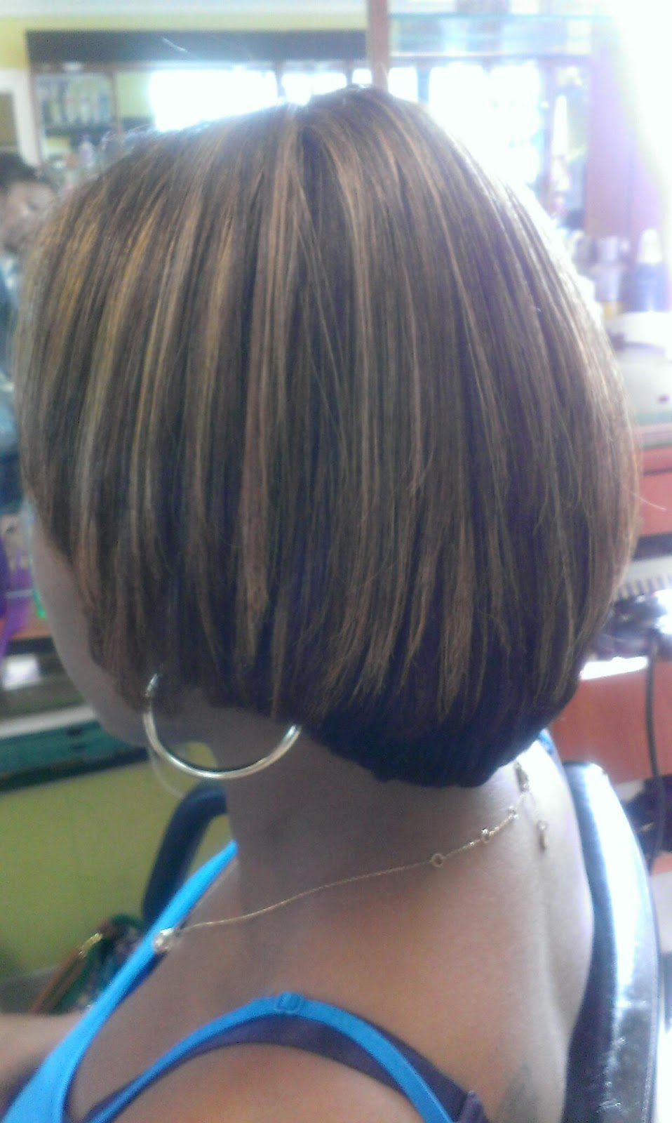 Hair Artistry By Chyna Natural Hair No Relaxer Blow Out And Color