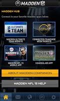 Screenshot of Madden NFL 15 Companion