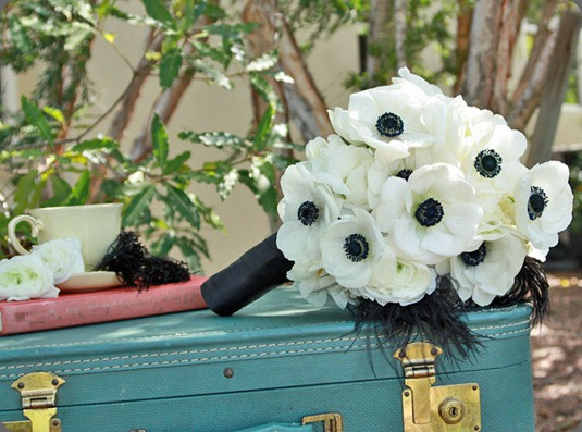 black-and-white-anemone-bouquet1 karen tran