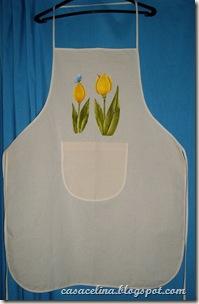 avental tulipa