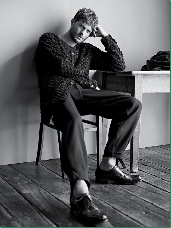 Jamie Dornan for 'The NY Times T Style Men's Fall Fashion 13'