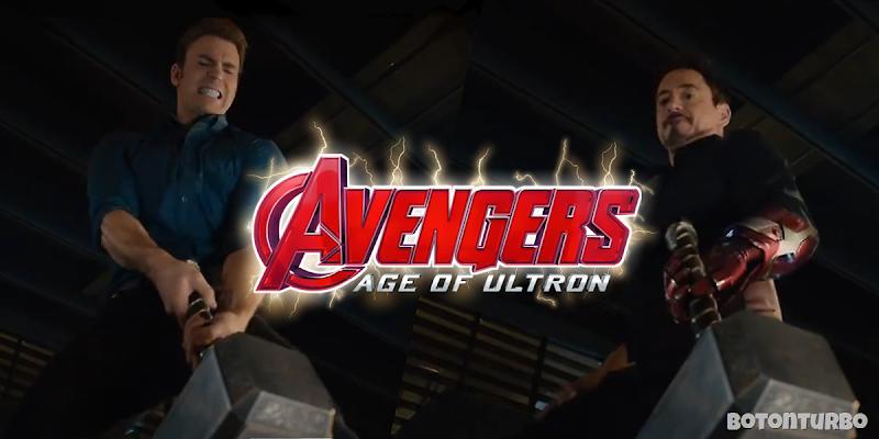 Mira a los Vengadores intentando levantar el Martillo de Thor