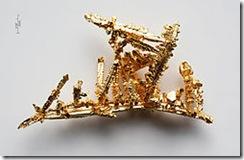 Ouro puro e cristalino