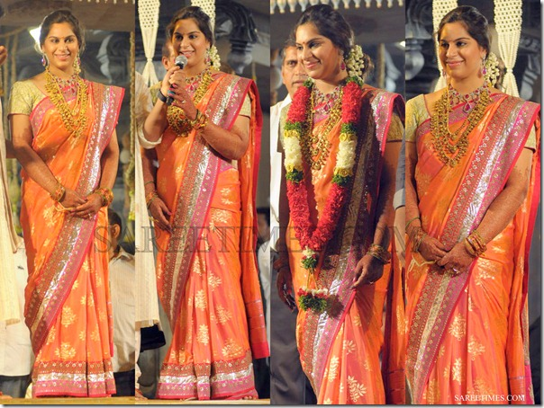 Upasana_Wedding_Reception_Saree