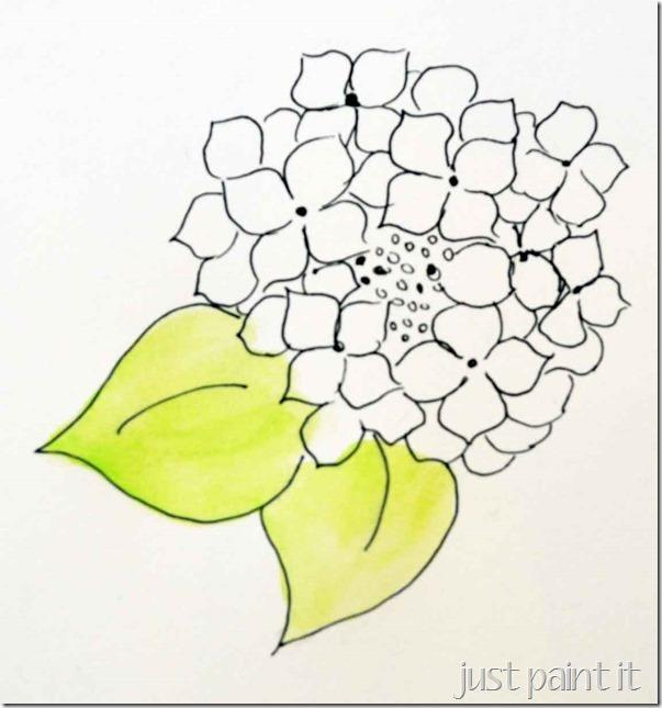 paint-hydrangea-A