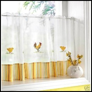 yellow-kitchen-curtains