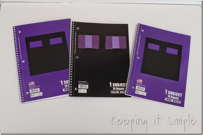 Minecraft Notebooks (9)