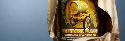 image of Bourbonic Plague brown bagging it, courtesy of Portlandbeer.org's Flickr page