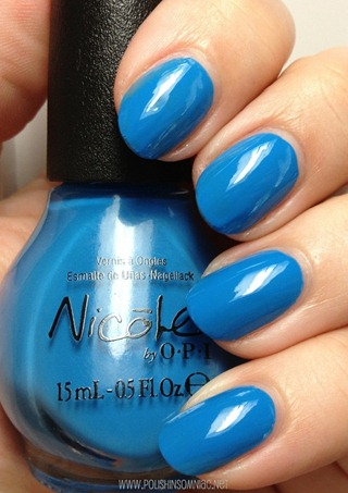Nicole by OPI I Sea You and Raise You