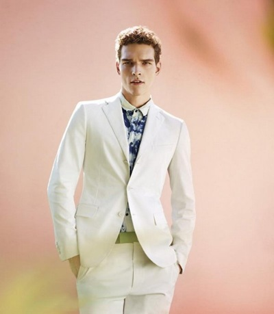 Alexandre Cunha @ DNA/Nous by Jack Pierson for Bottega Veneta S/S 2012.