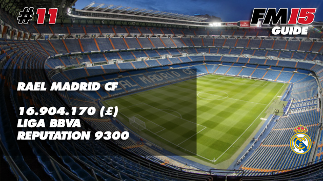 Real Madrid FM15
