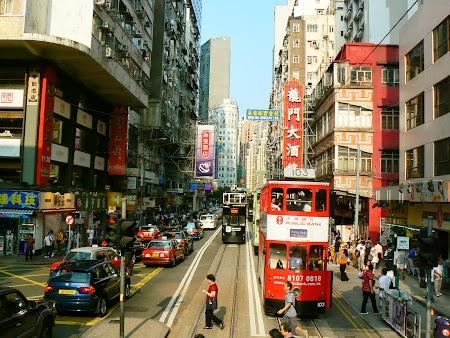 Strazile din Hong Kong