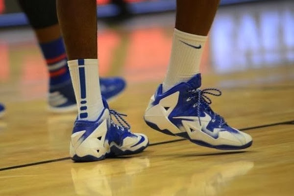 Duke Michigan amp Kentucky Showcase Nike LeBron XI PEs