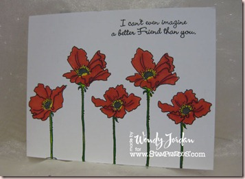 Stampendous-Poppies