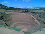 Un gran hoyo escavado ¿?