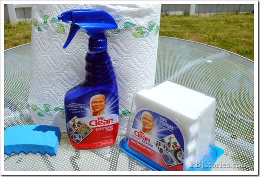 Mr Clean Outdoor products