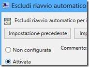 Impedire il riavvio automatico di Windows 8 dopo l'installazione degli aggiornamenti