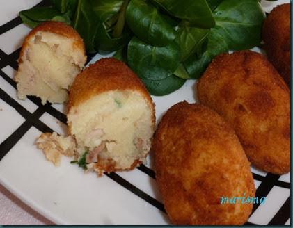 croquetas de patata y atún,racion1 copia