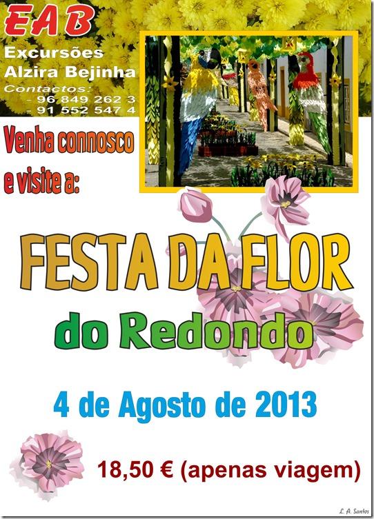 Excursões Alzira Bejinha - Festa Flor- Redondo 2013