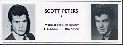 Scott Peters-1959 Players Entry