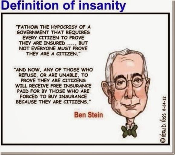 Ben Stein_Insanity