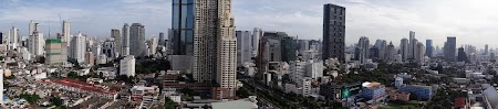 Foto cu Sony: Panorama Bangkok