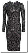 Reiss Sequin Embroidered Dress