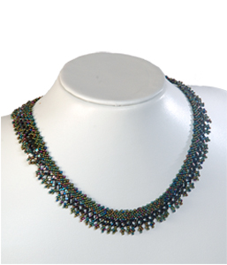 Beadedbead necklace