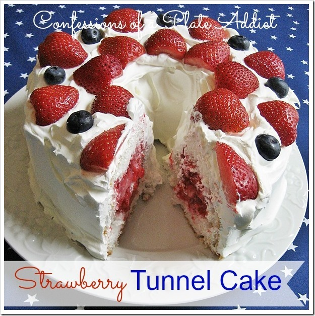 CONFESSIONS OF A PLATE ADDICT Strawberry Tunnel Cake