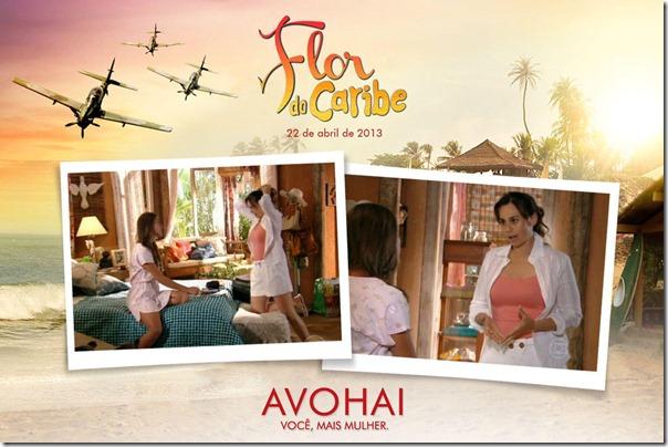 Daniela Escobar vestindo blusa rosa e short da Avohai