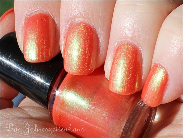Lackaktion Orange mpk Nails Lachs-effekt 3