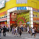 sega arcade in ikebukuro in Tokyo, Tokyo, Japan