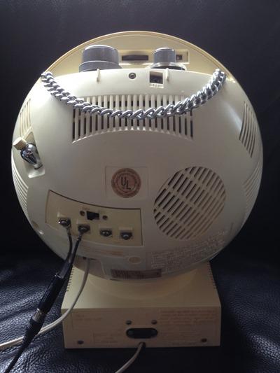 JVC Videosphere Model 3241 back