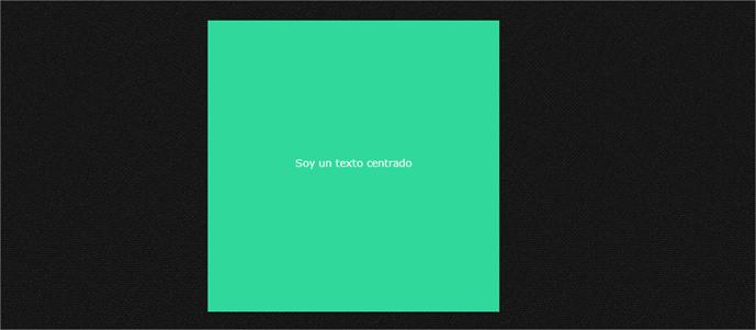 Cómo centrar horizontal y verticalmente con CSS